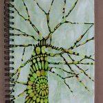 Mixed-media sketchbook ideas | Sandrine Pelissier, ClothPaperScissors.com