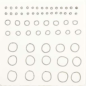 Practice your circles with The Zentangle Untangled Workbook