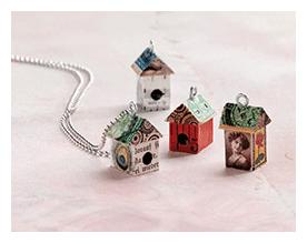 mixed media jewelry art to wear