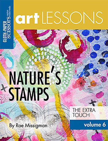 Art Lesson Volume 6: Nature's Stamps by Rae Missigman