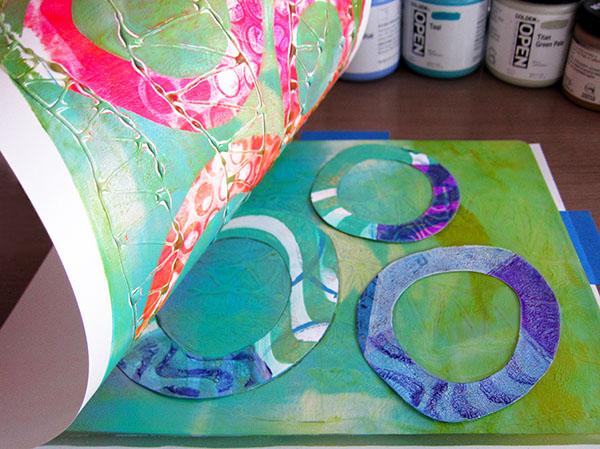 gelli plate printing joan bess
