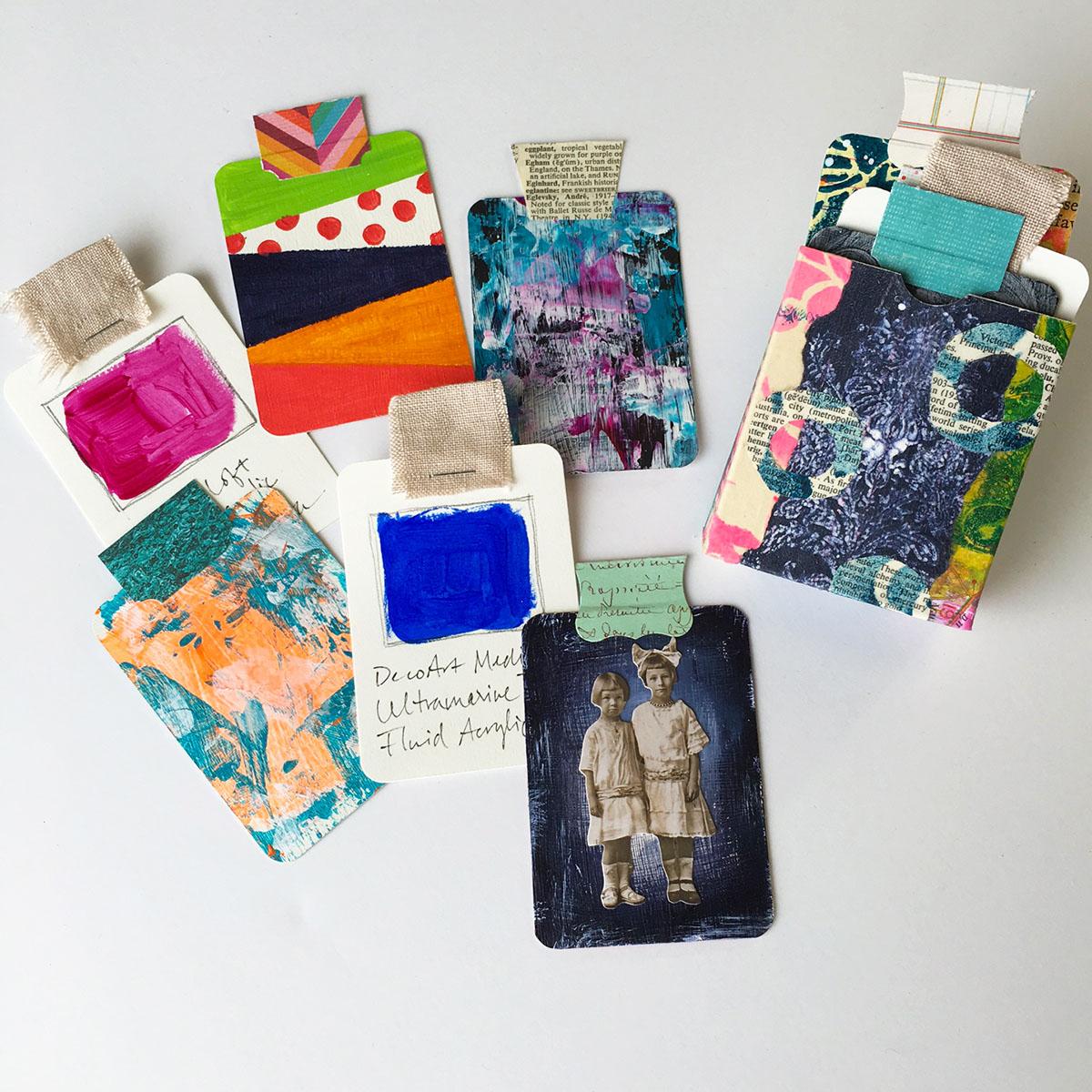 Make A Deck Of Art Cards Cloth Paper Scissors