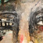 """detail of """"Open"""" by Mystele Kirkeeng."""