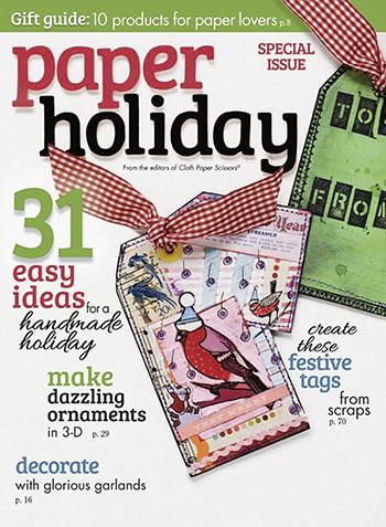 Cloth Paper Scissors Paper Holiday magazine