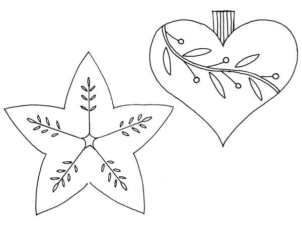 handmade ornament templates | Rogene Manas, ClothPaperScissors.com
