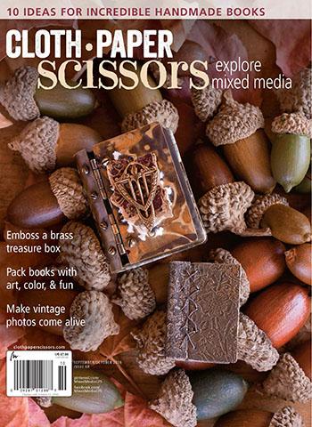 September/October 2016 issue of Cloth Paper Scissors magazine