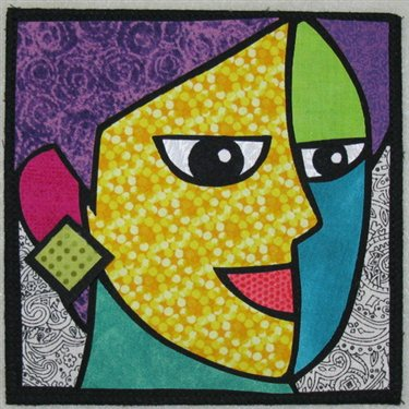 Easy Cubism Art Activities | Deep Space Sparkle