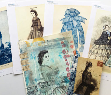 Download this fantastic selection of vintage ephemera images today and start creating stunning mixed-media art!
