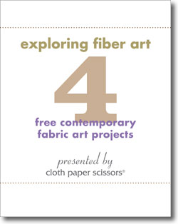Download your four free fabric art projects.