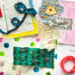 Looking for a great new mixed-media challenge? Try sewing on paper for a stitched diary!