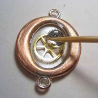 mixed media jewelry making